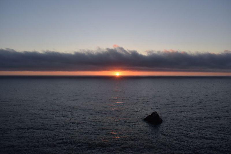 Abendstimmung an der Küste