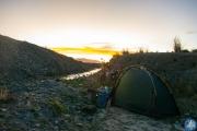 Wildcamping kurz vor La Paz