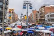 Mercado in La Paz, Bolivien