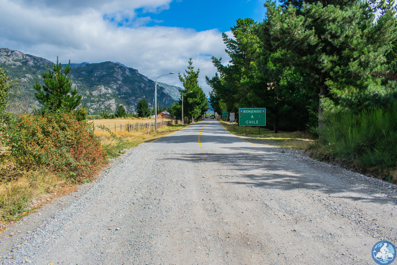 Grenze Argentinien / Chile