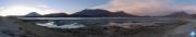 Sonnenaufgang an der Laguna Route