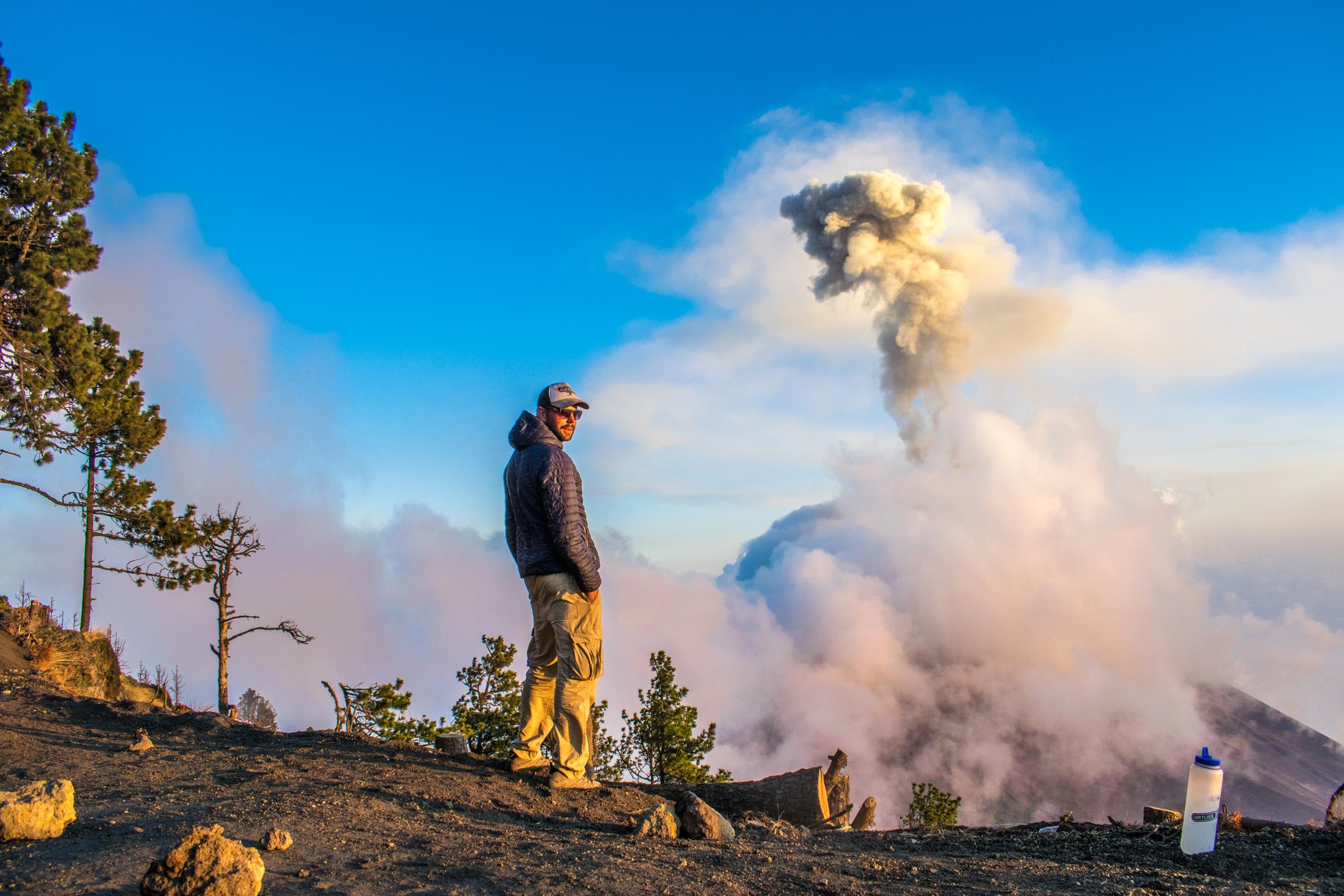 Chasing volcanoes