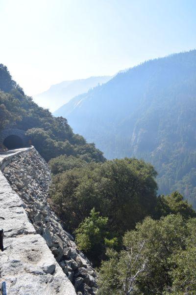 Aufstieg Tioga Pass