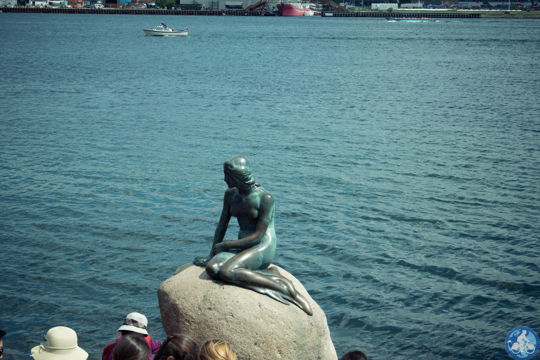 Die berühmte Meerjungfrau von Kopenhagen