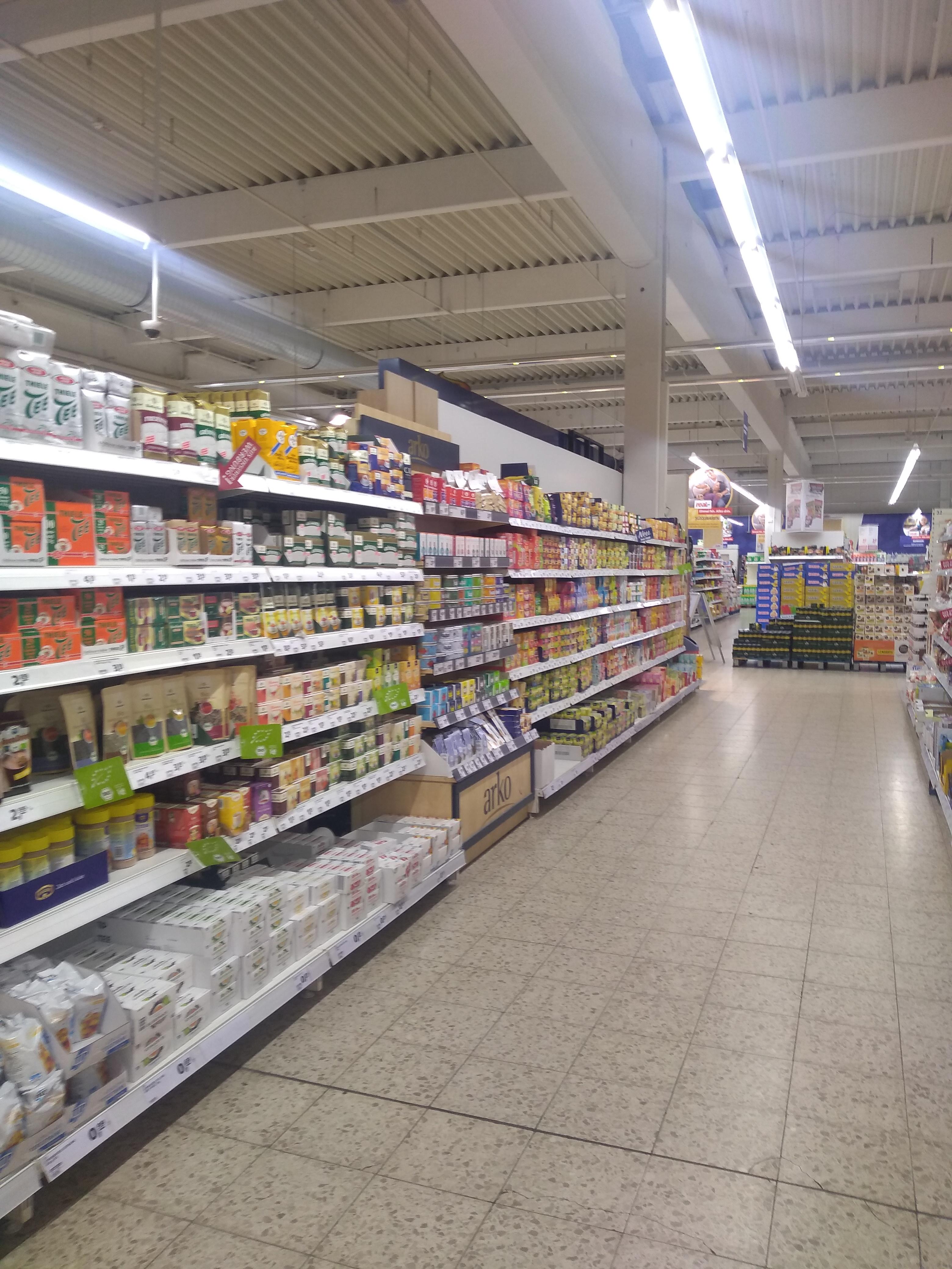 Europäischer Supermarkt....
