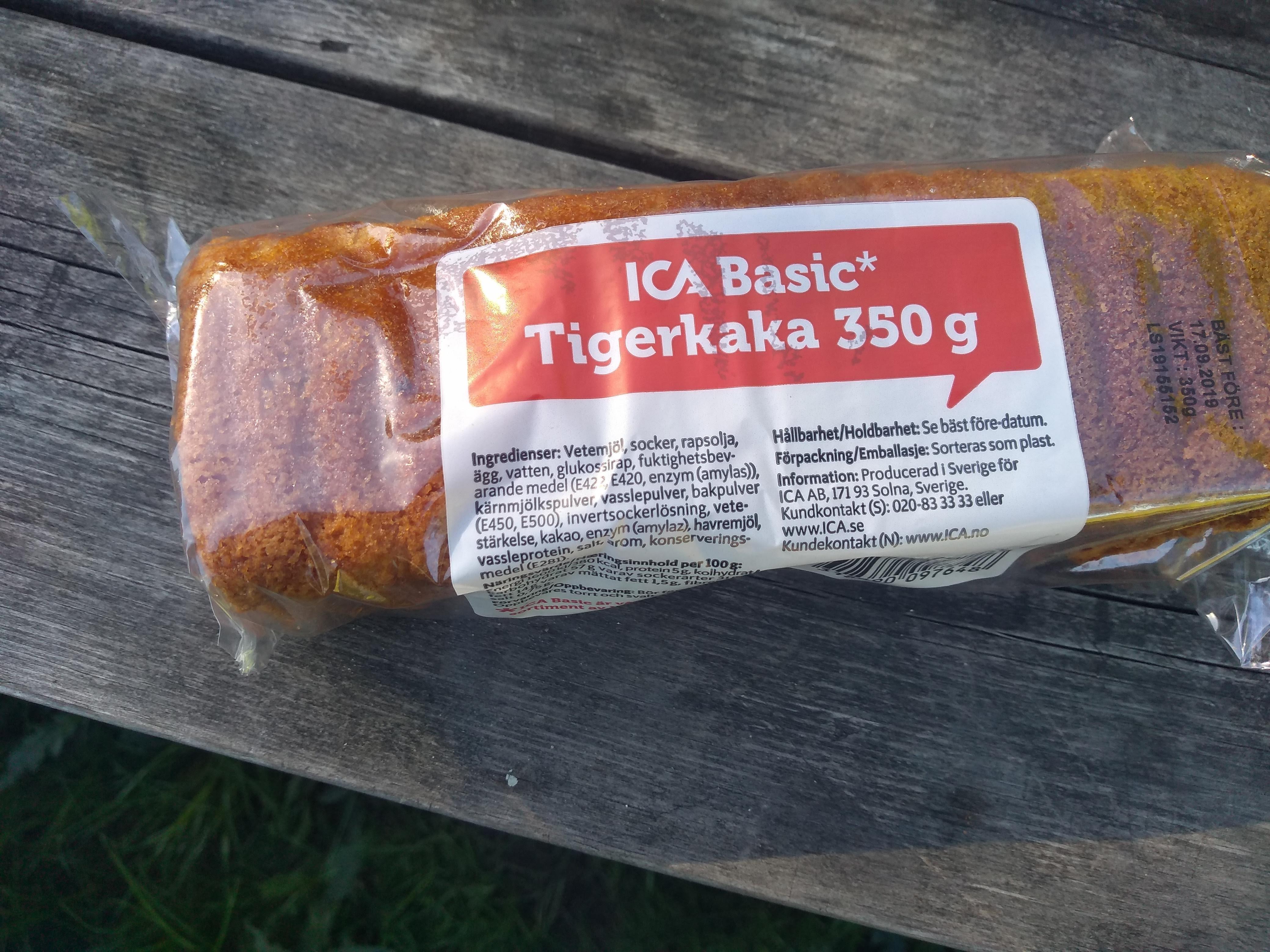 Tigerkaka