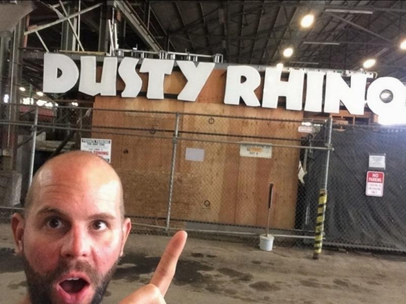 Dusty Rhino