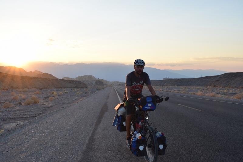 Sonnenuntergang im Death Valley