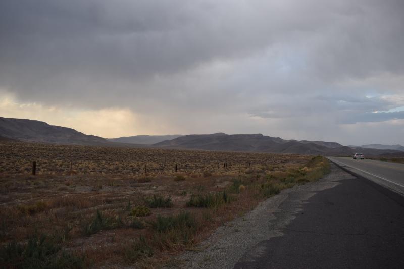 Gewitter in der Wüste :(
