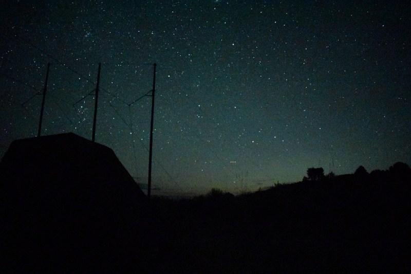 Sternennacht in der Wüste