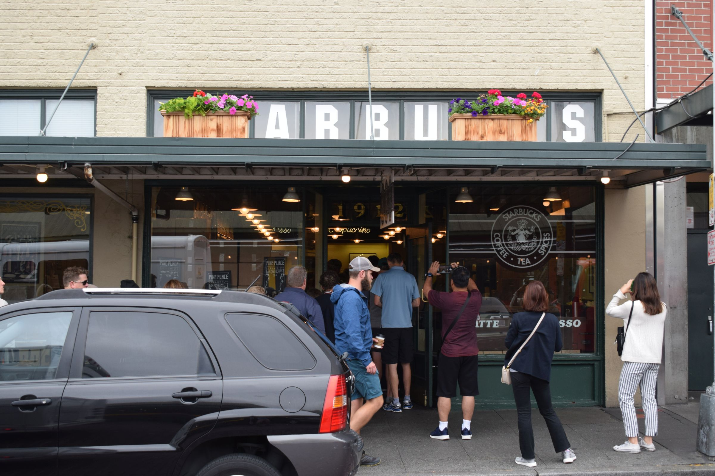 Erste Starbucks-Filiale der Welt
